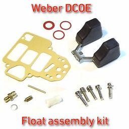 COLD START CHOKE elimination kit WEBER 38//40//42//45//48 DCOE EMPI complete set