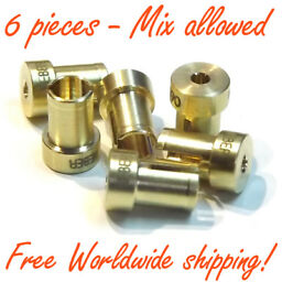4 pieces 10mm Intake Manifold Phenolic Spacer for carburetor Weber IDF 36mm